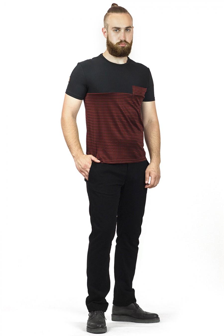 Мужская футболка F-407-1
