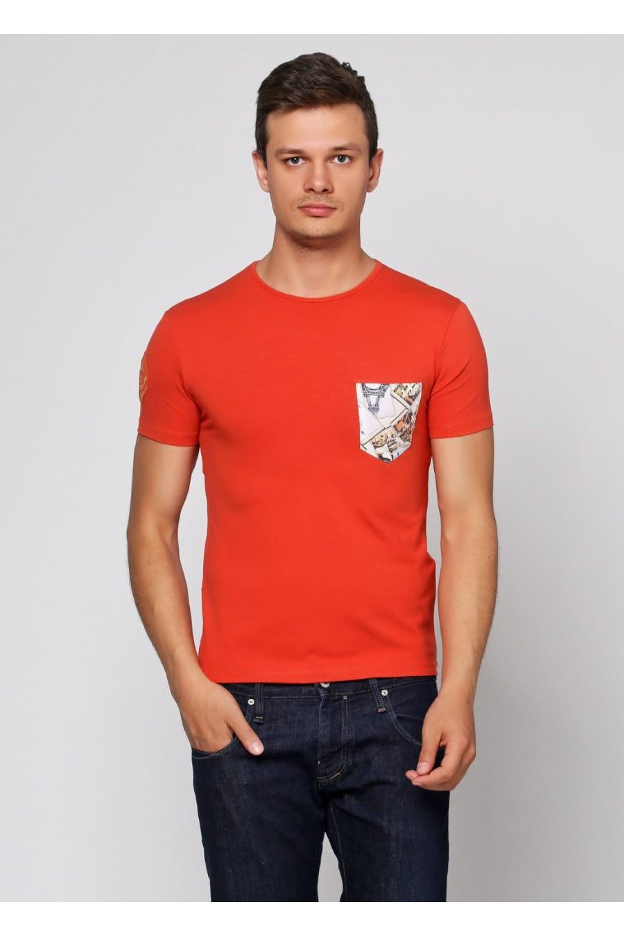 Мужская футболка F-406