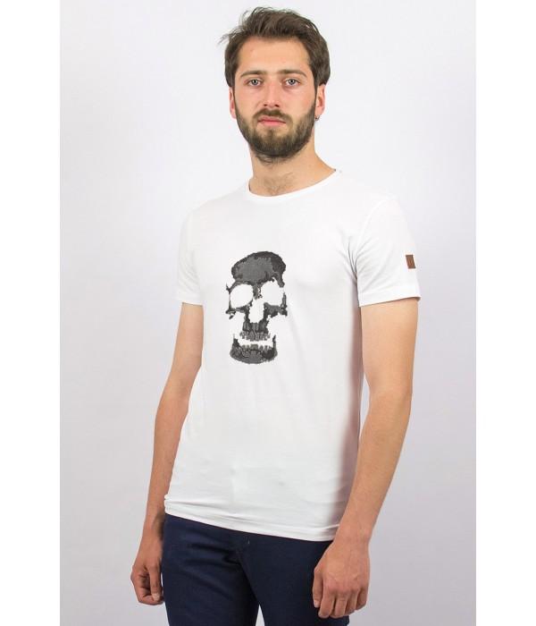 Мужская футболка F-412-2