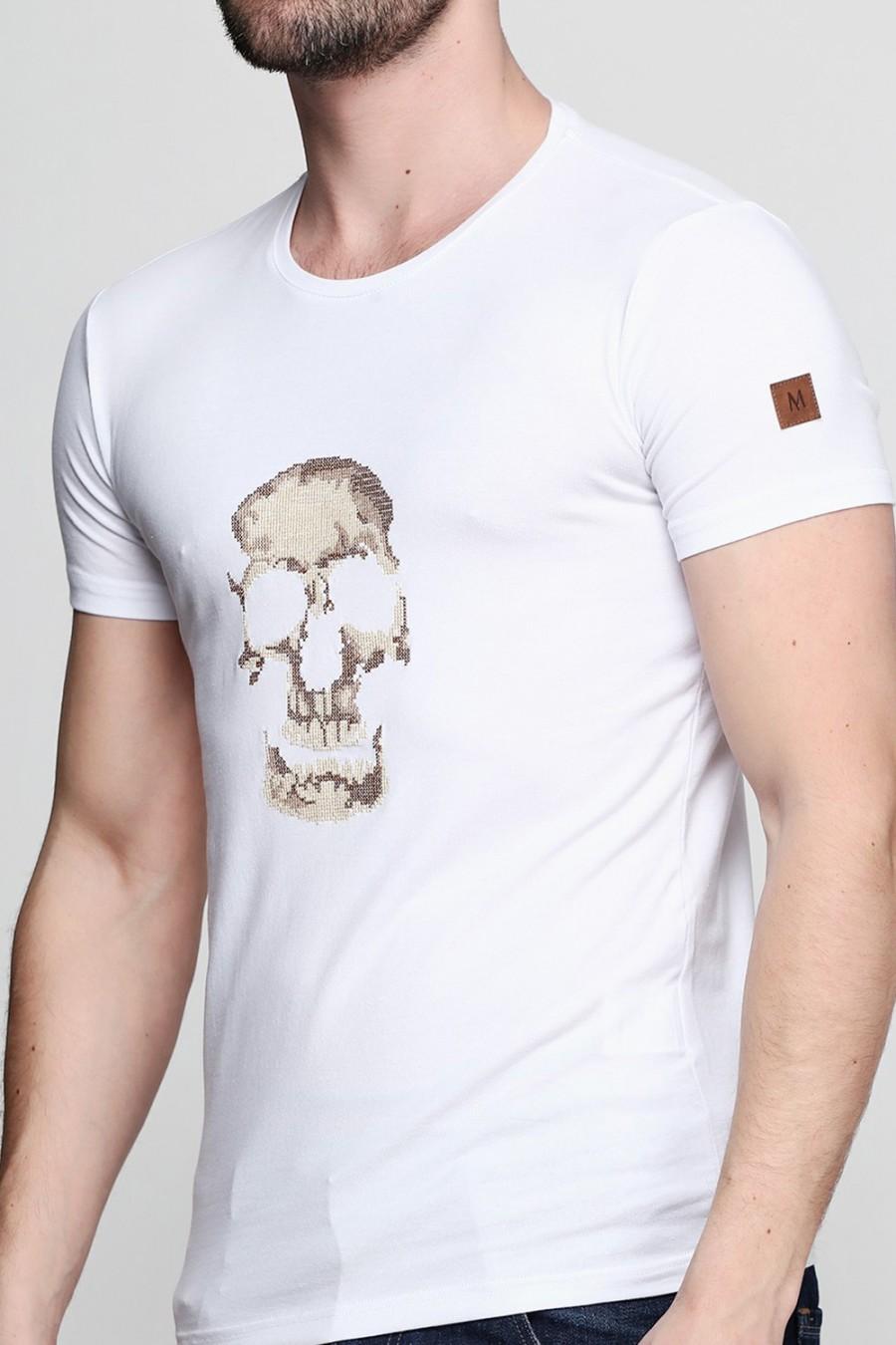 Мужская футболка F-412