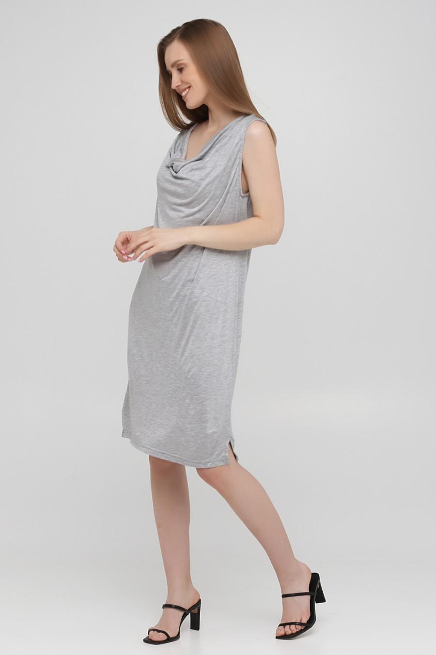 Серое платье NUMPH 7318