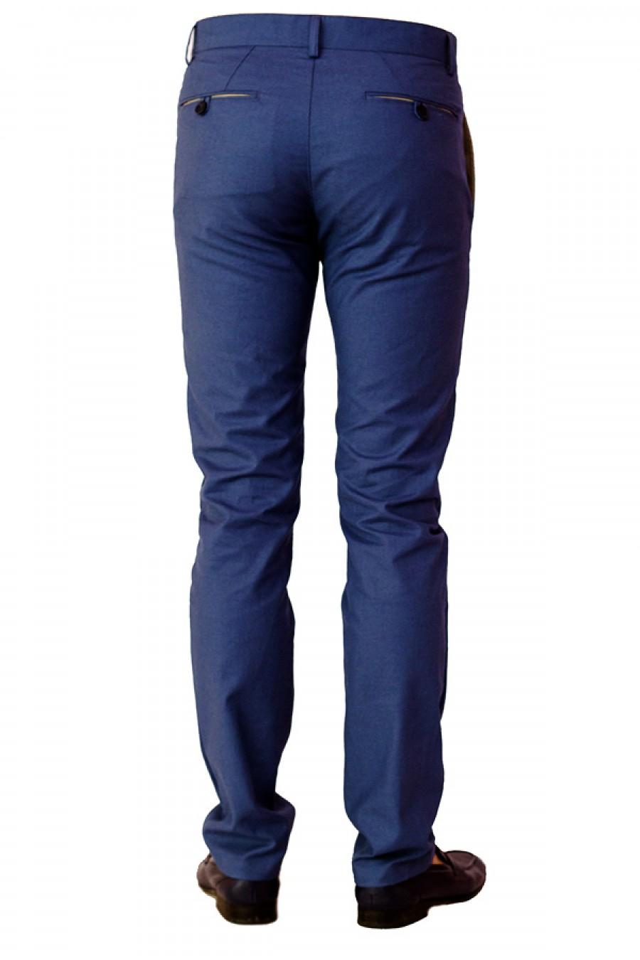 Синие мужские брюки Н-0011-1