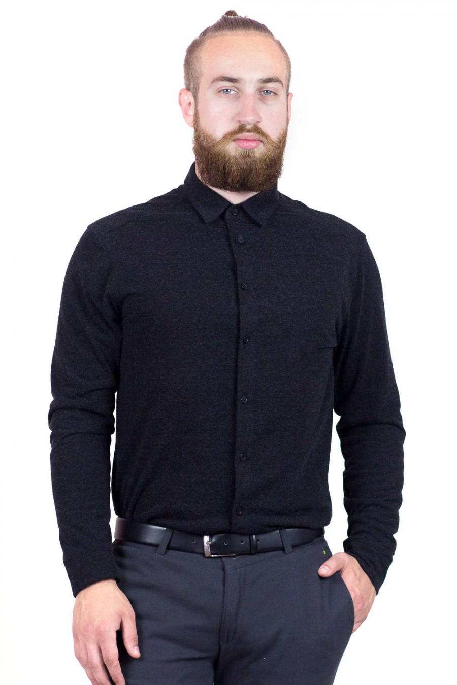 Трикотажная рубашка S-120