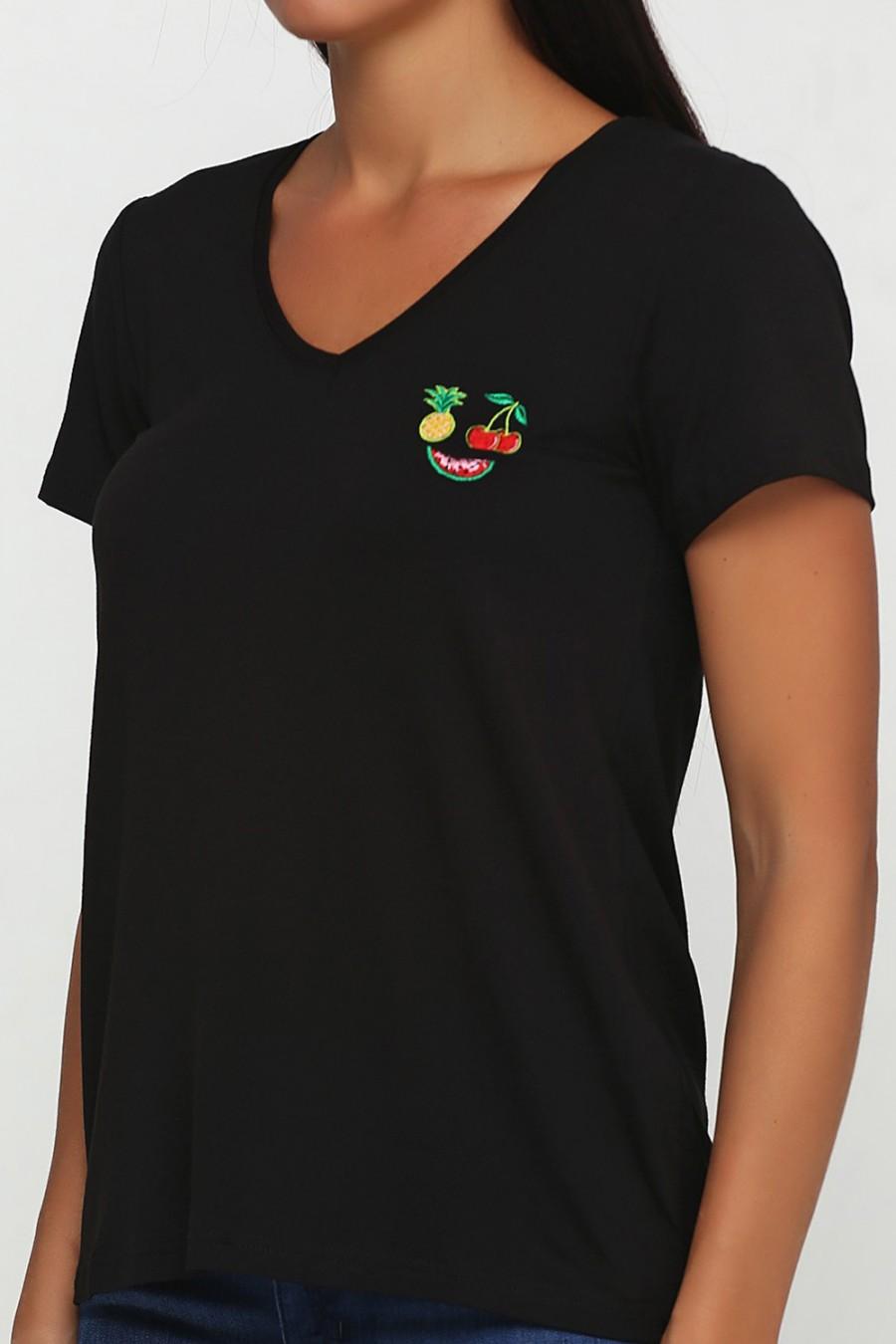 Женская футболка LF-1021-4F
