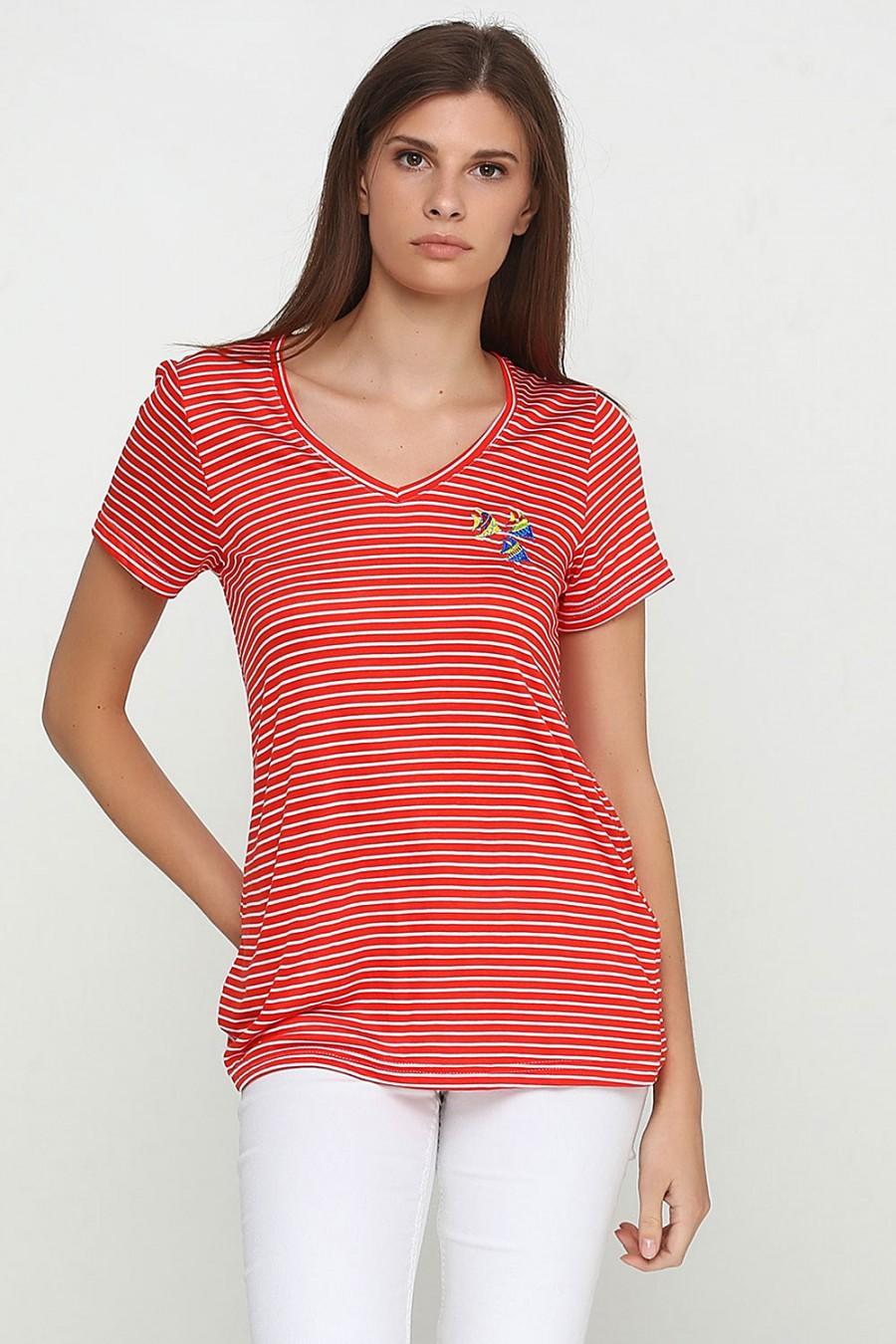 Женская футболка LF-1021-6F
